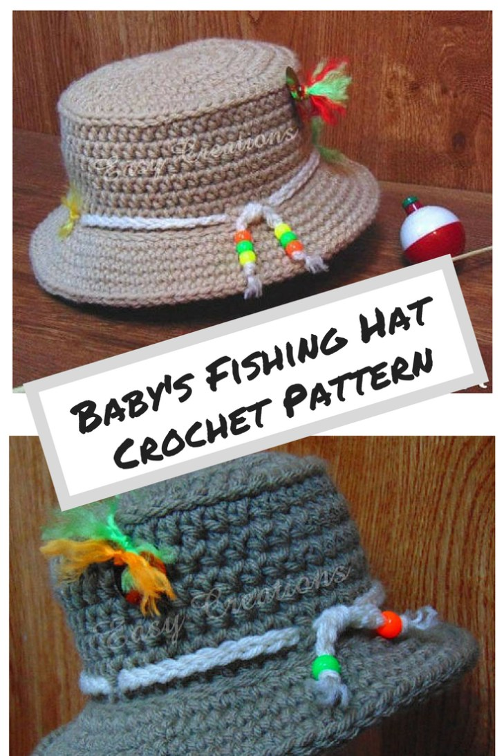 1983e5a5b9d Fish Hat Crochet Pattern Crochet Pattern Ba Fishing Hat Bucket Boy Boys  Girl Girls Sun Hat