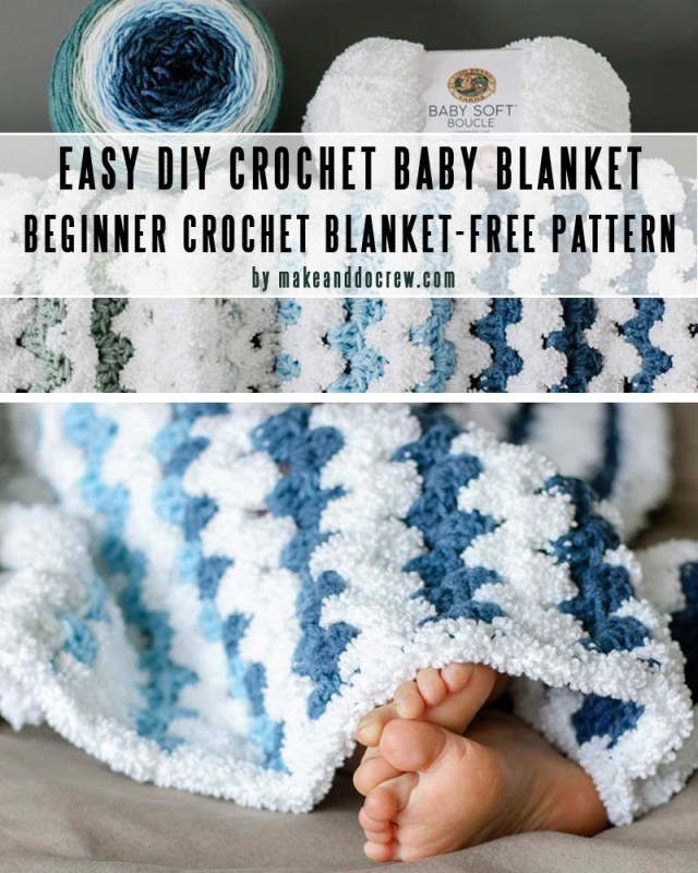 Free Baby Crochet Baby Blanket Patterns Easy Diy Ba Blankets You Can Crochet In A Weekend Craft Mart