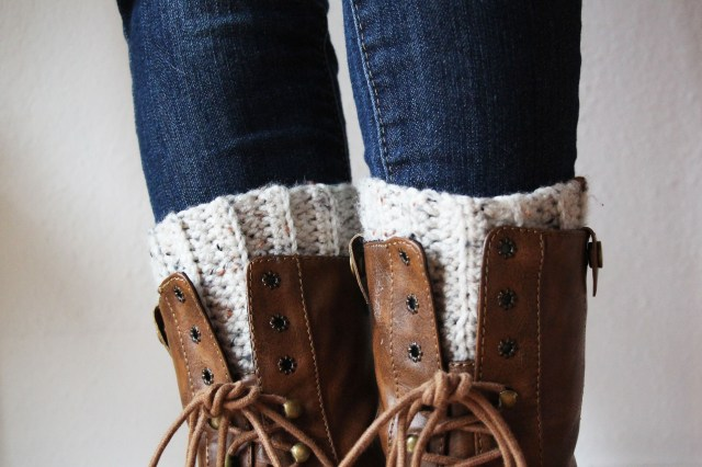 Free Boot Cuff Crochet Patterns Cute And Easy Crocheted Boot Cuffs Skip To My Lou