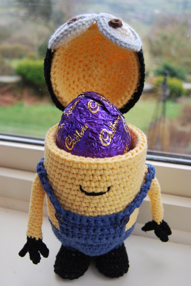 Free Crochet Minion Pattern Give Them Something Special With A Personalized Easter Basket