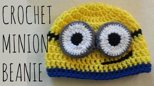 Free Crochet Minion Pattern Minion Beanie Crochet Pattern Character Creation Tutorial Youtube