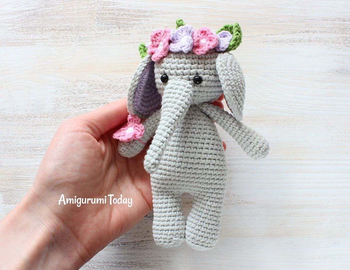 Josefina and Jeffery Elephant Security Blanket PDF Crochet Pattern ... | 926x1200