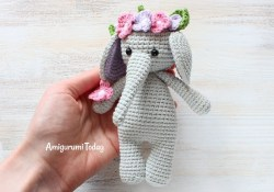 Free Crochet Pattern Elephant Cuddle Me Elephant Crochet Pattern Crochet Cuties