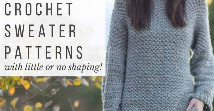 31 Awesome Free Crochet Sweater Patterns Crochetnstyle Com