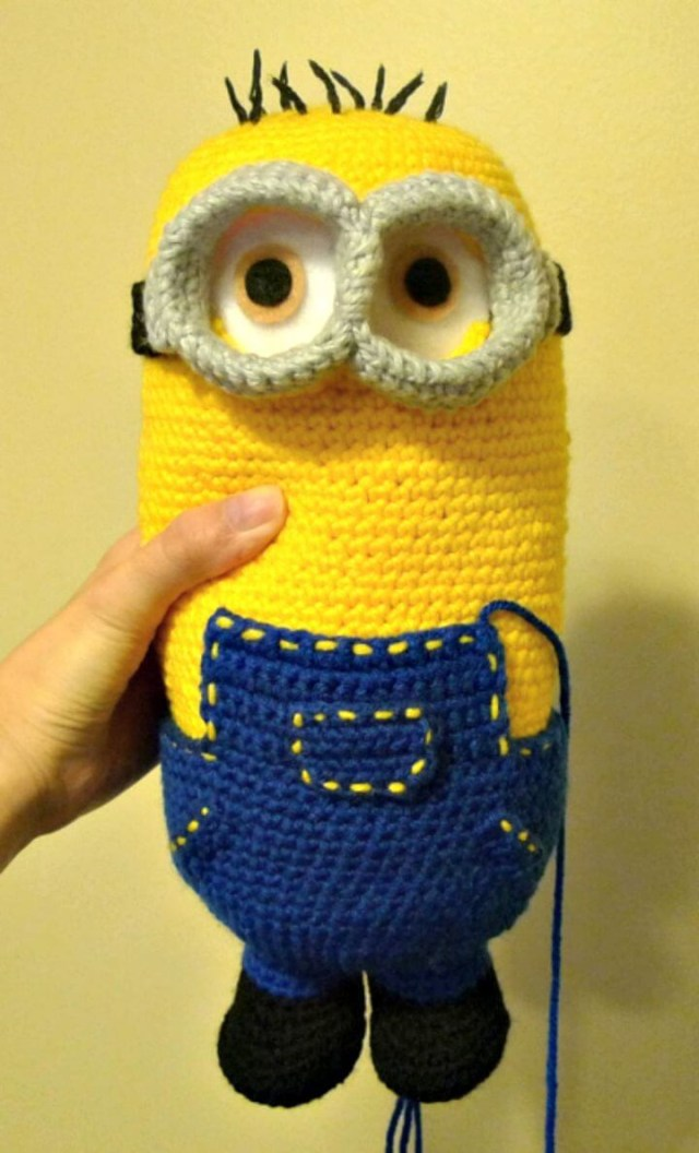 Minion Free Crochet Pattern Collection All The Best Ideas | Minion ... | 1056x640