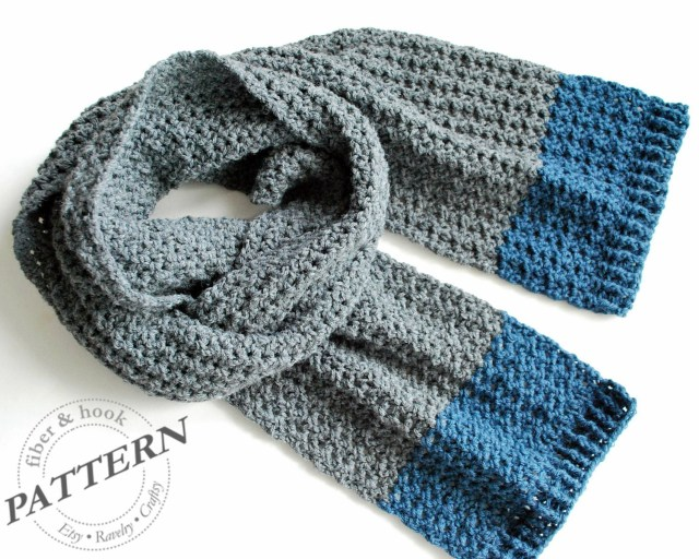 Male Scarf Crochet Pattern Crochet Mens Scarf Wwwtopsimages