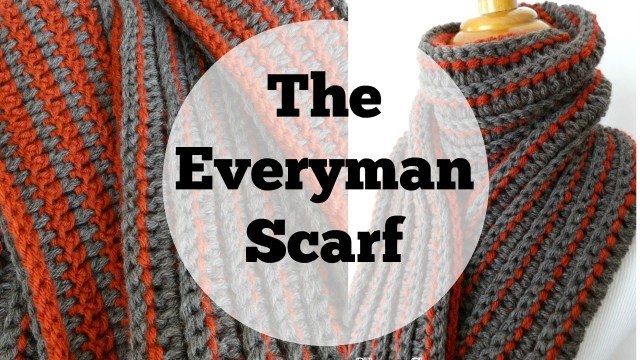 Male Scarf Crochet Pattern Episode 171 How To Crochet The Every Man Scarf Youtube