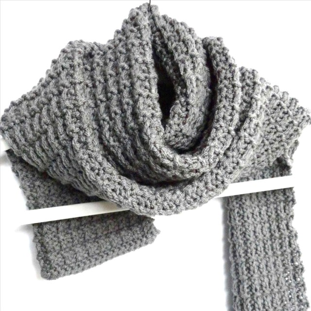 Male Scarf Crochet Pattern Mens Scarf Pattern Crochet Inspb