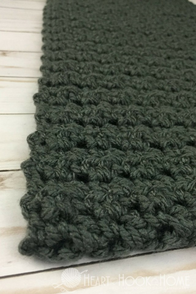 Male Scarf Crochet Pattern Simple Scarf For Men Free Crochet Pattern