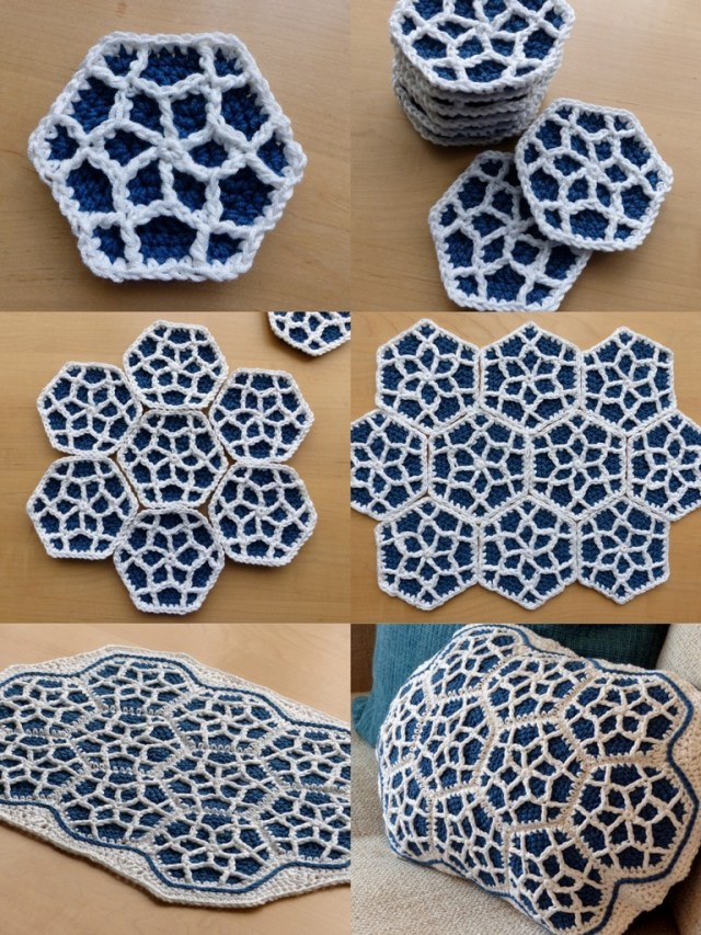 Motif Patterns Crochet Free Pattern This Moroccan Hexagon Motif Is Amazing Knit And
