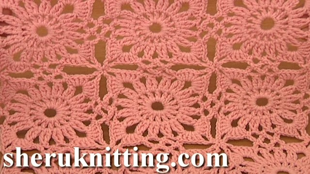 Motif Patterns Crochet Invisible Method Of Square Motif Joining Crochet Tutorial 4 Part 2