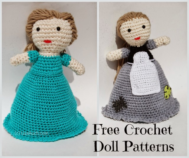 Simple Crochet Doll Pattern Free Crochet Patterns And Designs Lisaauch Free Crochet
