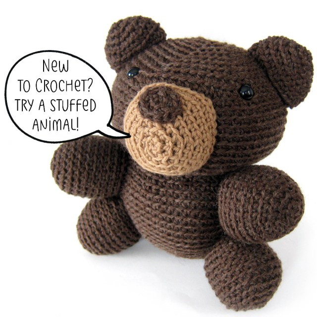 Simple Crochet Doll Pattern New To Crocheting Try An Animal Shiny Happy World