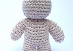 Simple Crochet Doll Pattern One Piece Crochet Doll Pattern Supergurumi