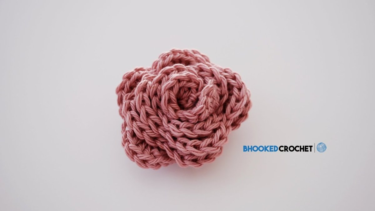 Simple Crochet Rose Pattern How To Crochet A Rose Beginner Friendly Tutorial Free Crochet