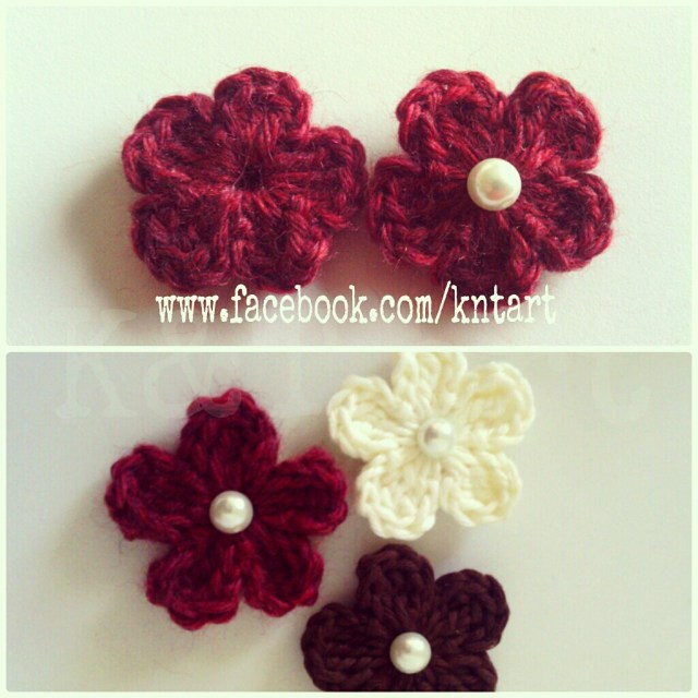 Small Crochet Flower Pattern The Difference Is In The Details Big And Small Crochet Flower Pattern