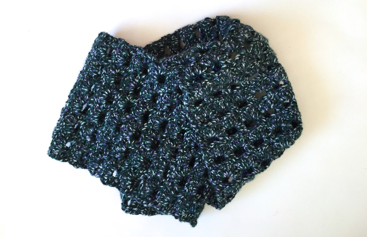 Snood Scarf Crochet Pattern The Scarf That Became A Snood Hook Stitch Sew