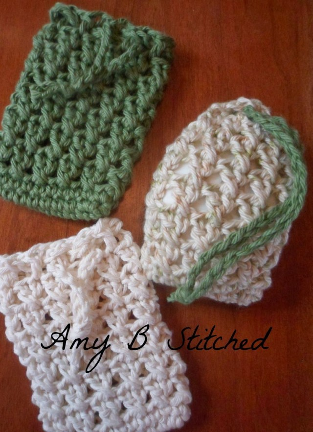 Soap Bag Crochet Pattern Cross Stitch Soap Saver Pouch Crochet Pattern Crochet For Personal