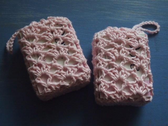 Soap Bag Crochet Pattern Simple Gifts Girls Handbag Soap Savers Dishcloths Flushed