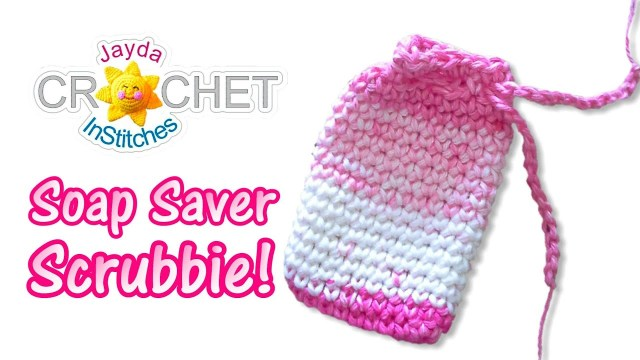 Soap Bag Crochet Pattern Soap Saver Scrubbie Small Bag Pouch Crochet Pattern Youtube
