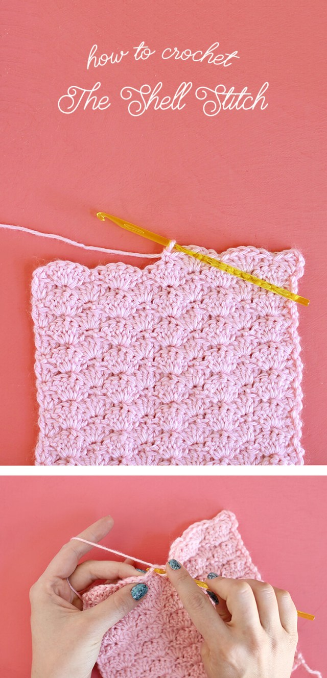 Star Shell Afghan Crochet Pattern How To Crochet The Shell Stitch For Beginners Persia Lou