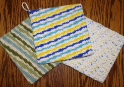 Thick Crochet Potholder Pattern Double Thick Potholder Free Crochet Pattern Yay For Yarn