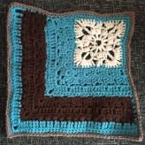 "French Corner 12"" Crochet Square 2"