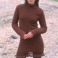 DROPS Crocheted Dress by DROPS Design