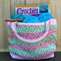 Honeysuckle - Summer Crochet Bag by Kathy Lashley of ELK Studio