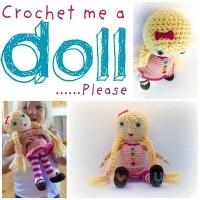 Crochet Me A Doll ~ Mamachee