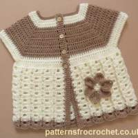 Baby Summer Coat ~ Patterns For Crochet