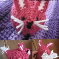 Easter Bunny Egg Cozy by Meladora's Creations