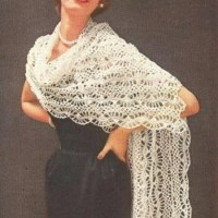 Hairpin Lace Stole by Antique Crochet Patterns
