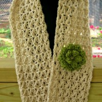 Lacy Summer Scarf by Kathy Lashley of ELK Studio