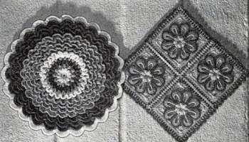 Pineapple Popcorns Pot Holder Hot Plate Mat Free Crochet Pattern