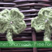 Crochet Shamrock ~ The Stitchin' Mommy