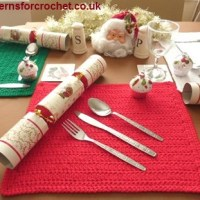 Festive Placemat ~ Patterns For Crochet