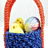 Simple Easter Basket ~ Oombawka Design