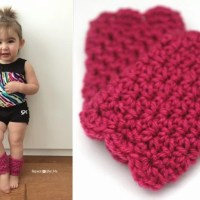 Scalloped Leg Warmers ~ Repeat Crafter Me