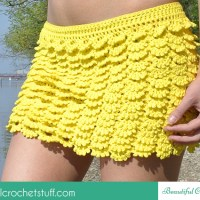 Layered Crochet Skirt ~ Jane Green - Beautiful Crochet Stuff