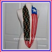 American Freedom Scarf ~ Sara Sach - Posh Pooch Designs