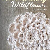 The Never Ending Wildflower ~ Rebecca Langford - Little Monkeys Crochet