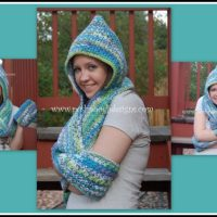 Scoodie - Hooded Scarf with Pockets ~ Sara Sach - Posh Pooch Designs