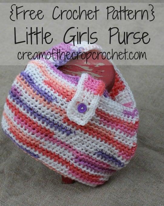 Little Girls Purse Free Crochet Pattern