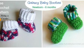 c1745fc16 Baby Boots with Cuffs ~ FREE Crochet Pattern