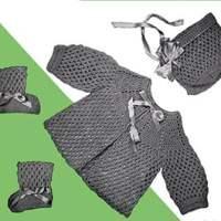 Baby Set #721 ~ Free Vintage Crochet