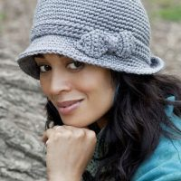 Elegant Hat ~ Kim Guzman - CrochetKim