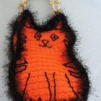 Kitty Tote ~ Donna's Crochet Designs