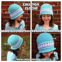 Calleigh Cloche ~ Elisabeth Spivey - Calleigh's Clips & Crochet Creations