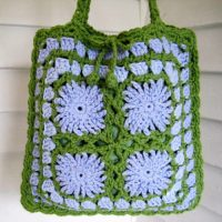 Chickory Square Block and Bag by Mr. Micawber's Recipe for Happiness